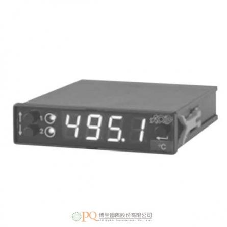 用於溫度與製程測量的可程式數位面板儀錶