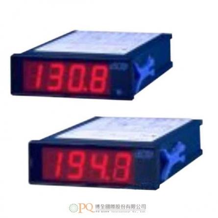 用於溫度測量的單功能面板儀錶