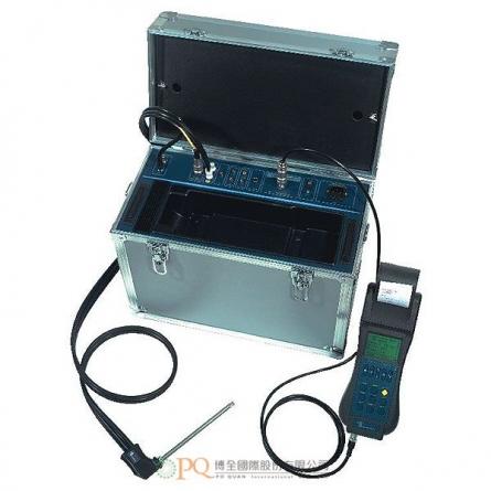 手持式工業煙道排氣分析儀